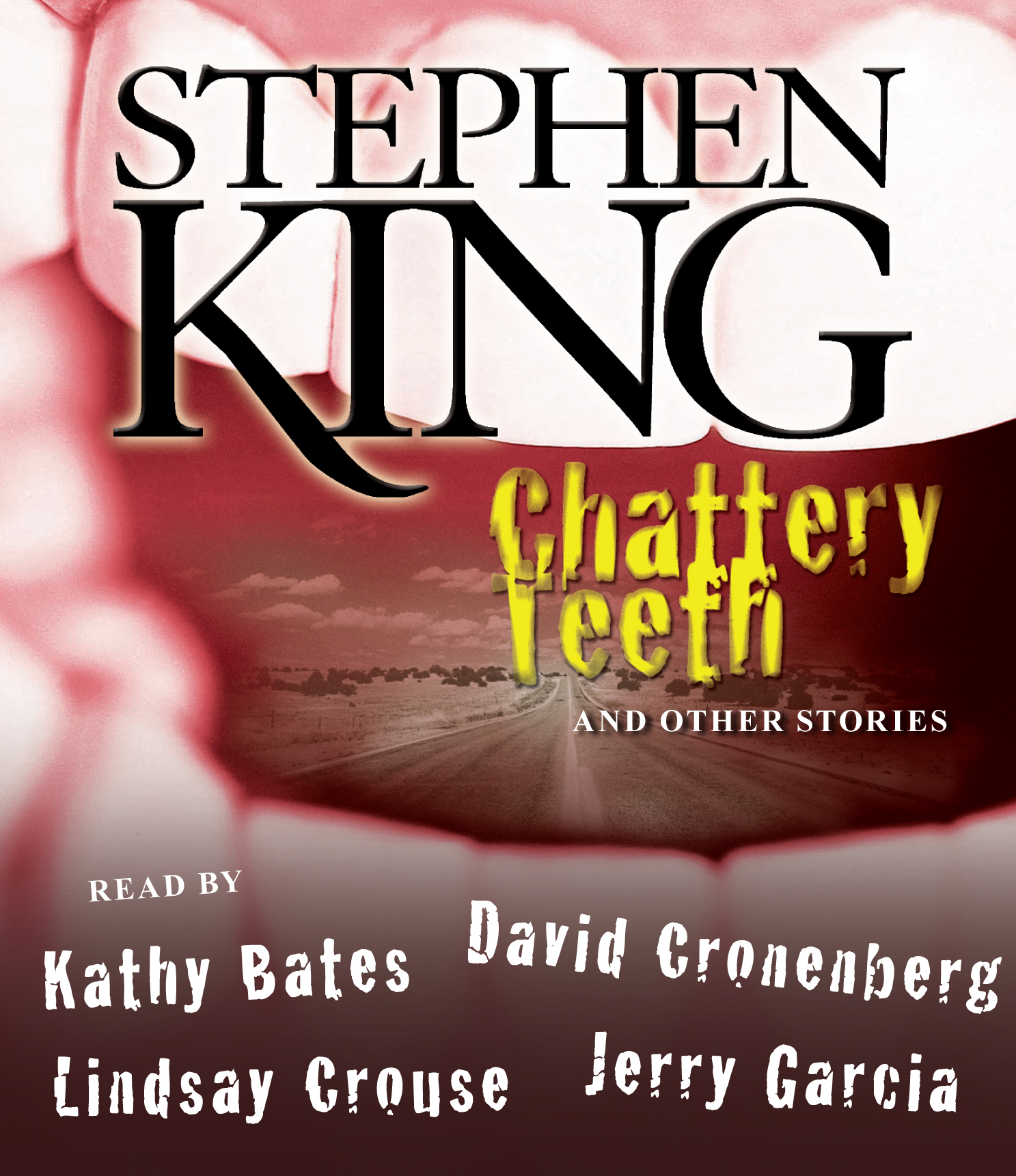 Book Cover White Teeth : Chattery teeth audiobook on cd by stephen king kathy