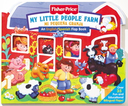 Fisher Price Farm / Mi Pequena Granja/Bilingual Lift the Flap