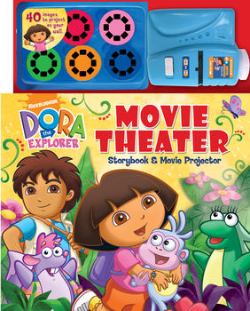 Dora the Explorer Movie Theater Storybook & Movie Projector