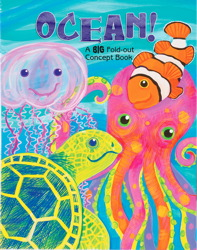 Ocean! A Big Fold-Out Flap Book