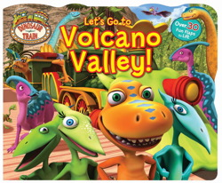 Dinosaur Train Lift-the-Flap Let's Go to Volcano Valley!