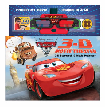 DisneyoPixar Cars 2 3-D Movie Theater