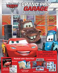 Cars 2 Grand Prix Garage