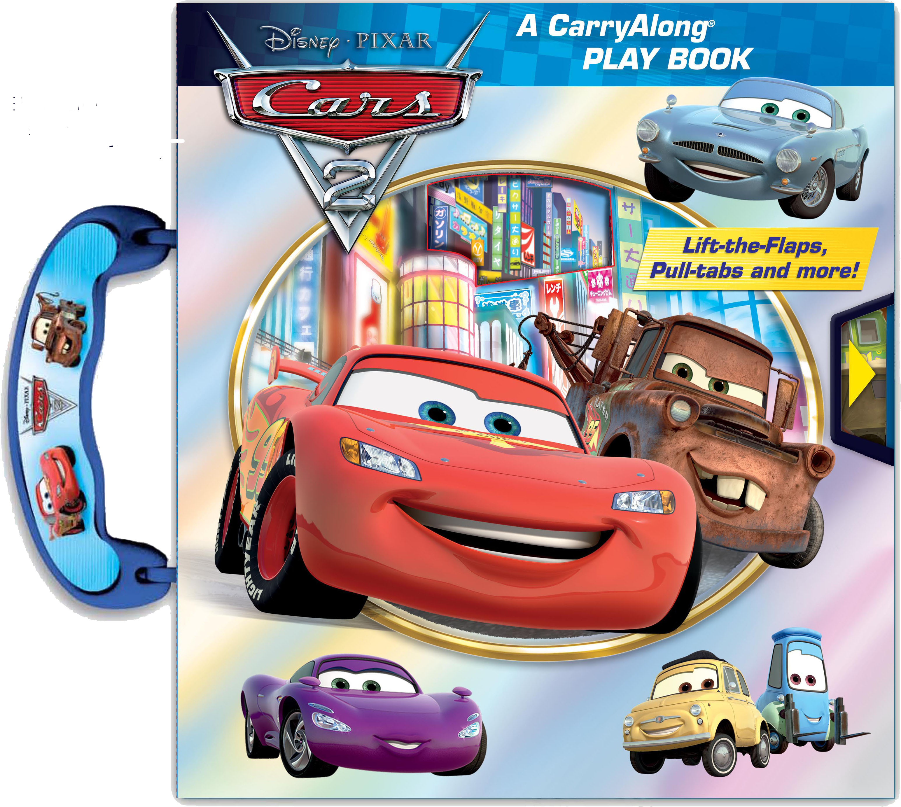DisneyPixar Cars A CarryAlong Play Book Book By Cynthia - Cars 2 cool cars book