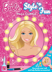 Barbie Style N' Fun Wall Clings