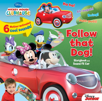Disney Mickey Mouse Clubhouse Follow That Dog! Storybook and Sound FX Car