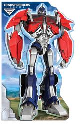 Transformers Prime Optimus Prime Stand Up Mover