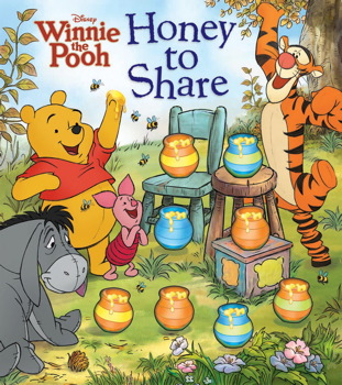 Disney Winnie the Pooh Honey to Share