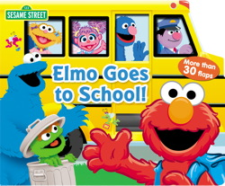 Sesame Street Elmo Goes to School