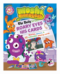 Moshi Monsters: Roary Eyes His Cards!