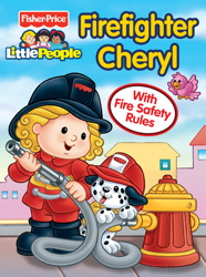 Fisher Price Little People Firefighter Cheryl