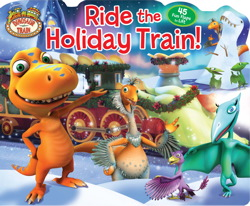 Dinosaur Train Ride the Holiday Train!