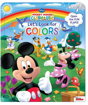 Disney Mickey Mouse Clubhouse Let's Look for Colors