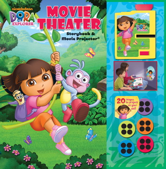 Dora the Explorer Movie Theater Storybook and Movie Projector®