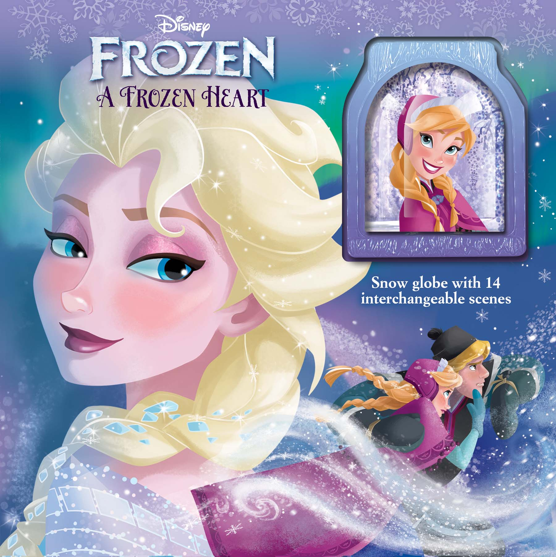 Frozen: Book 1 (Heart of Dread), Cruz, Melissa de la and Johnston, Michael, New Bo