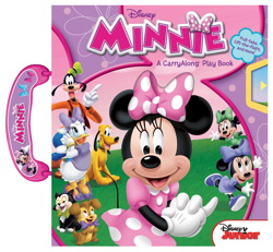 Disney Minnie A CarryAlong Play Book
