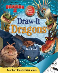 DreamWorks How to Train Your Dragon 2: Draw-It Dragons
