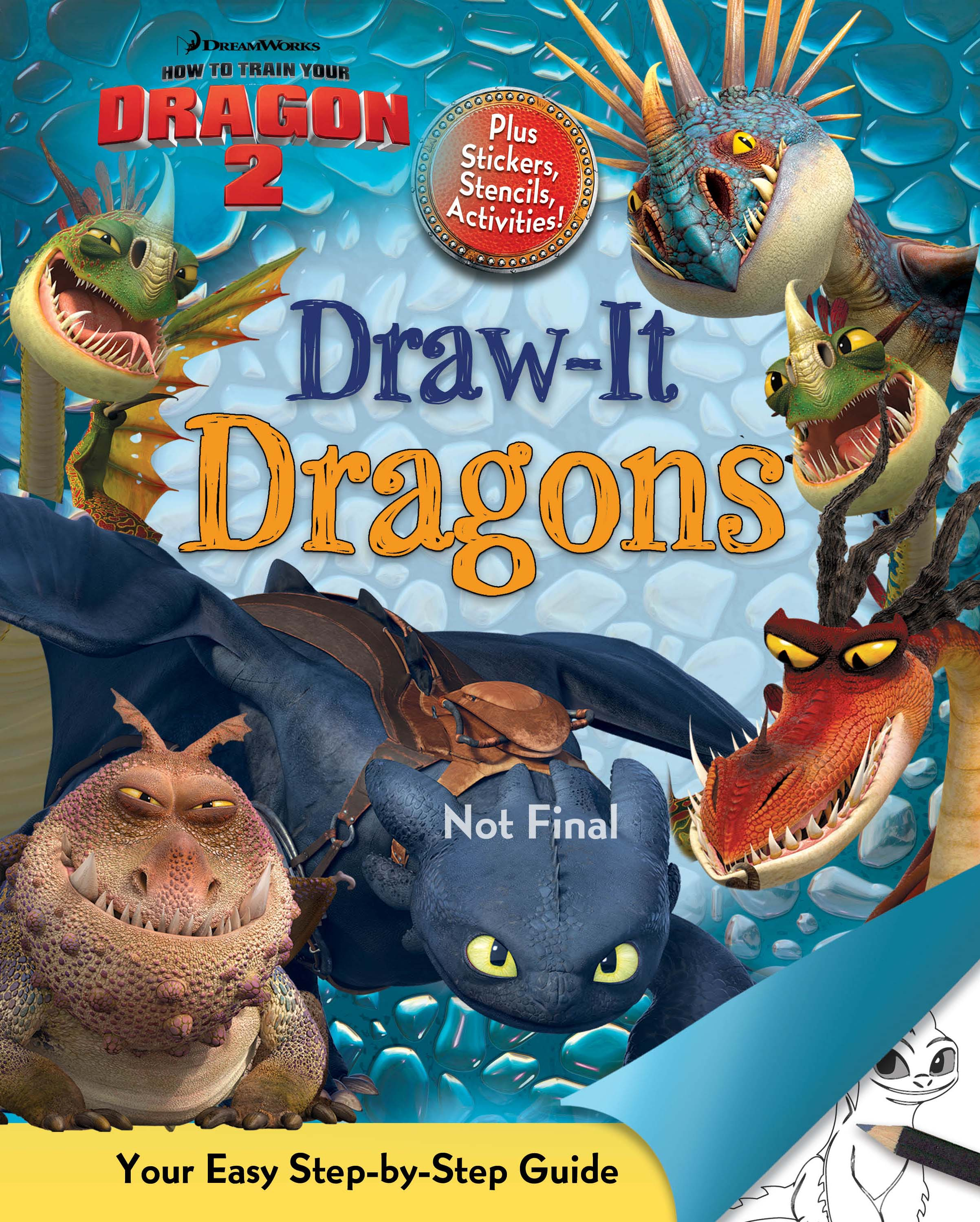 Dreamworks Dragons Drawings Product Image 1 of 1
