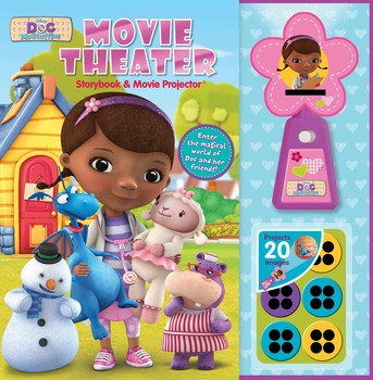 Disney Doc McStuffins Movie Theater Storybook & Movie Projector