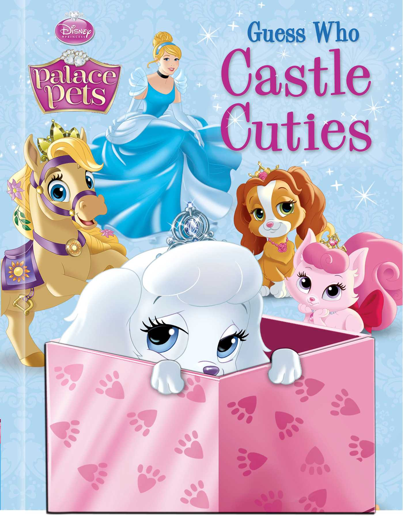Disney palace pets guess who castle cuties 9780794431921 hr