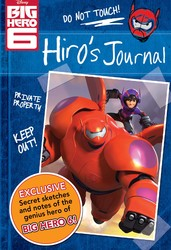 Disney Big Hero 6 Hiro's Journal
