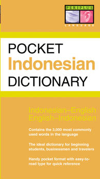 Pocket Indonesian Dictionary