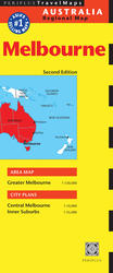 Melbourne Travel Map Second Edition