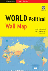 World Political Wall Map