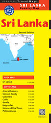 Sri Lanka Travel Map Second Edition