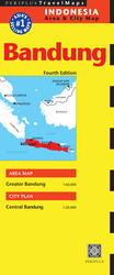 Bandung Travel Map Fourth Edition