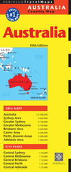 Australia Travel Map Fifth Edition