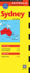 Sydney Travel Map Sixth Edition