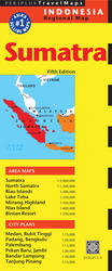 Sumatra & Medan Travel Map Fifth Edition