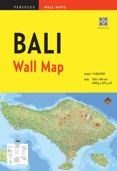 Bali Wall Map Third Edition
