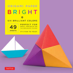 "Origami Paper - Bright - 6"" - 49 Sheets"