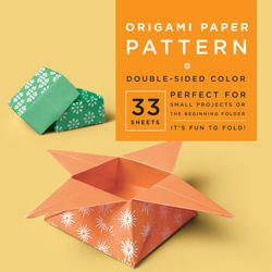 "Origami Paper - Pattern - 6 3/4"" - 33 Sheets"
