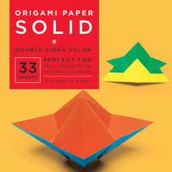 "Origami Paper - Solid - 6 3/4"" - 33 Sheets"