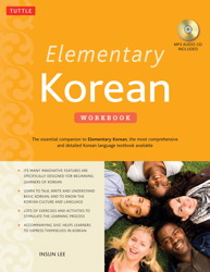 Elementary Korean Workbook