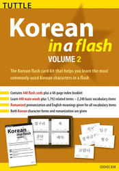 Korean in a Flash Kit Volume 2