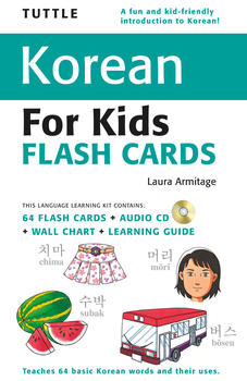 Tuttle Korean for Kids Flash Cards Kit