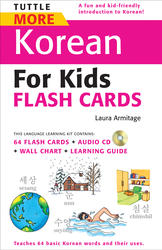 Tuttle More Korean for Kids Flash Cards Kit