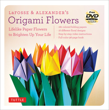 LaFosse & Alexander's Origami Flowers Kit