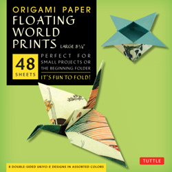 "Origami Paper - Floating World Prints - 8 1/4"" - 48 Sheets"