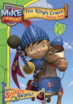 MIke the Knight Sticker Book