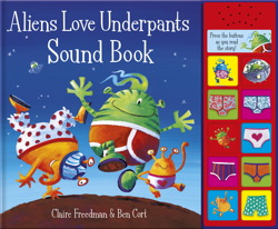 Aliens Love Underpants Sound Book