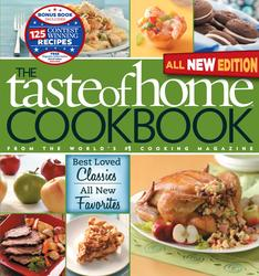 Taste of Home Cookbook, All NEW 3rd Edition with Contest Winners BonusBook