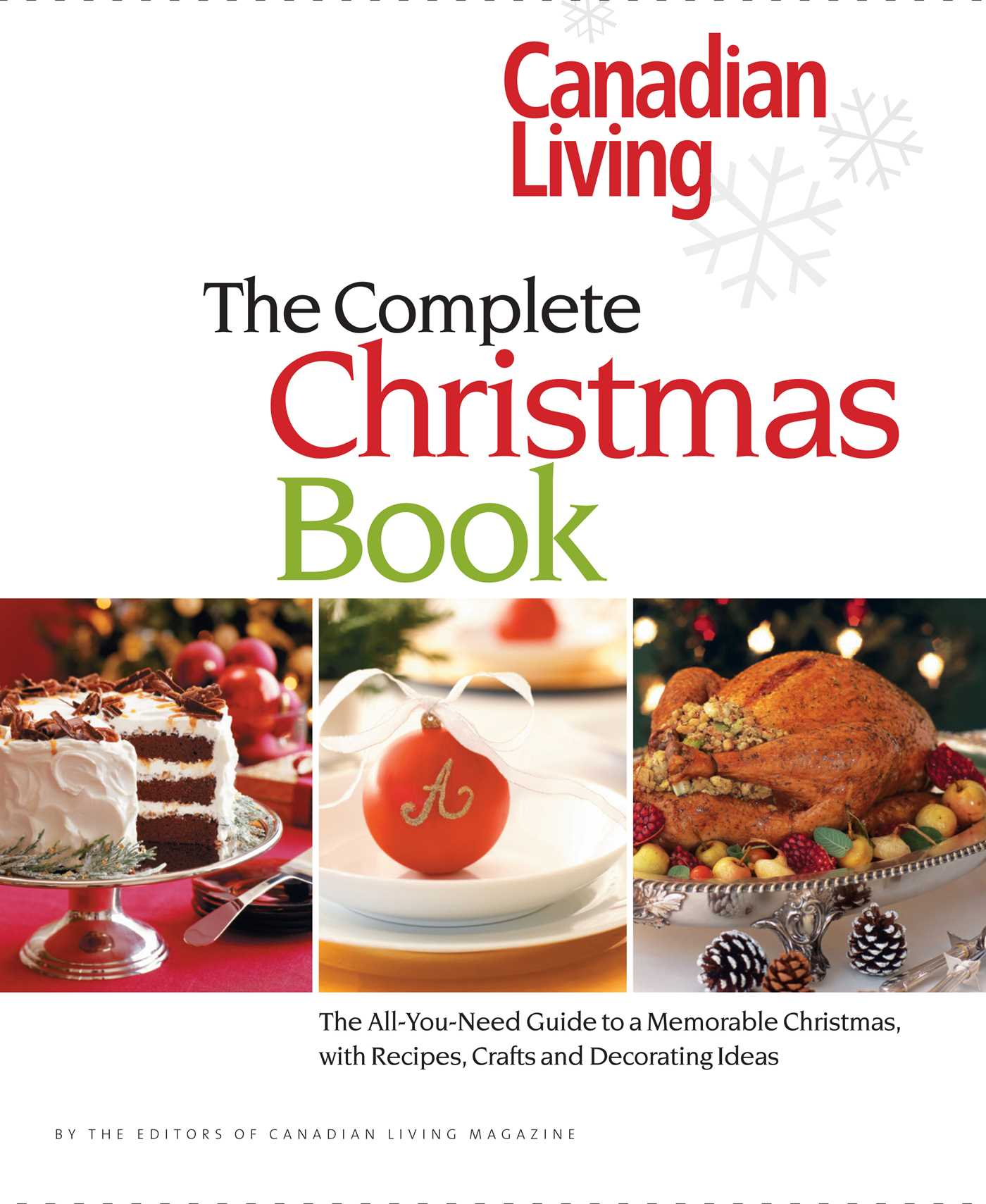 Canadian living the complete christmas book book by canadian book cover image jpg canadian living the complete christmas book forumfinder Image collections