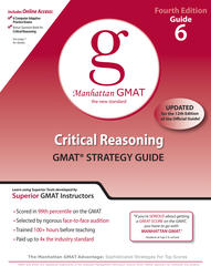 Critical Reasoning GMAT Preparation Guide, 4th Edition