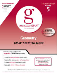 Geometry GMAT Preparation Guide, 4th Edition