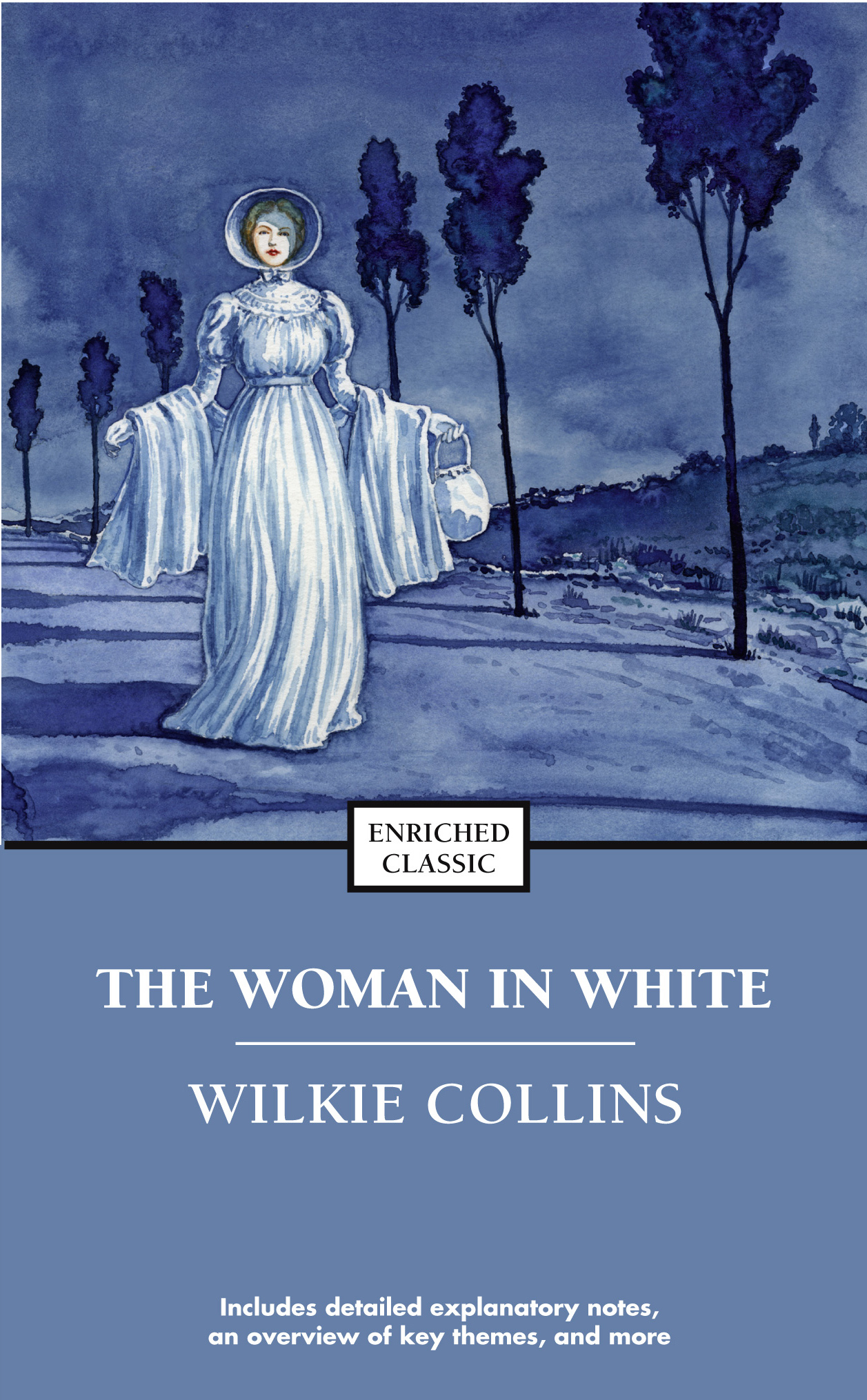 Book Cover On White : The woman in white book by wilkie collins official
